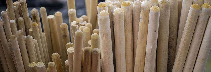 Fabrication de manches en bois d'outils