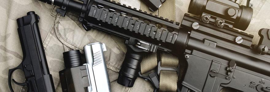 Choisir une arme correspondant à vos besoins