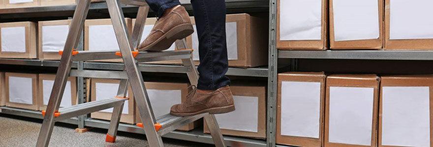 Échelles d'appui et échelles simples