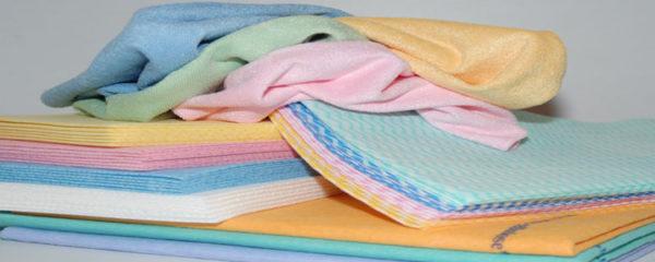 textiles d'essuyage non tissés